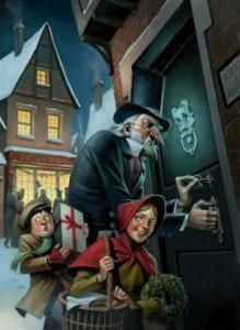 Un Chant de Noël de Charles Dickens chez Gallimard, 2010