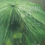 parapluie vert