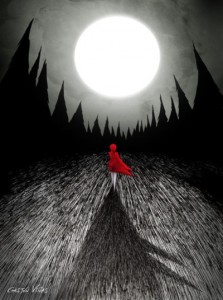 The Red Coat by Gastón Viñas