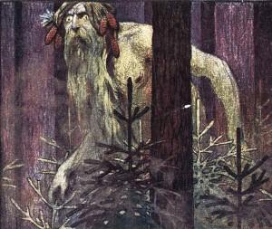 Illustration de couverture du n° 1 de la revue satirique Lechi (1906)