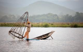 Le Petit pêcheur et le squelette de Chen Jiang Hong