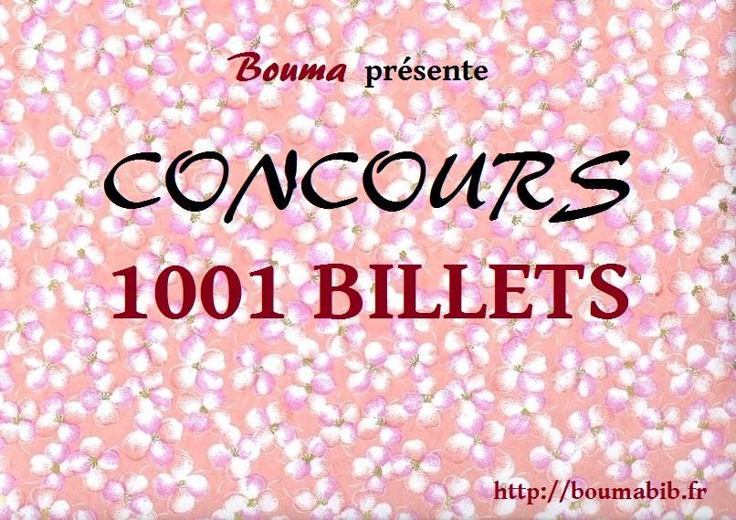 concours 1001 billets boumabib