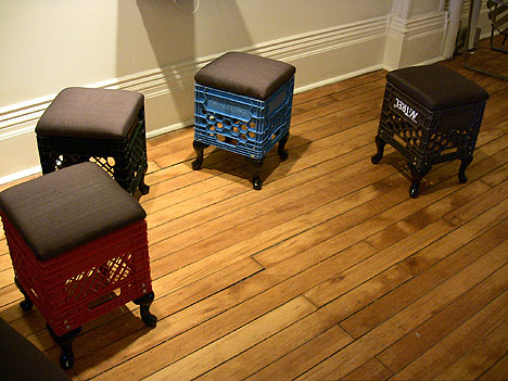 Design Blog Sociale- Milk Crates Furniture D via Flickr