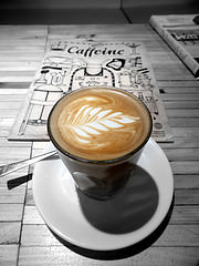 Latte art at Salt by duncan C via Flickr