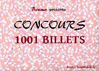 miniature 1001 billets