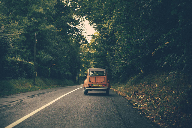 Road to Honfleur beach... by Cristian Bortes  via Flickr