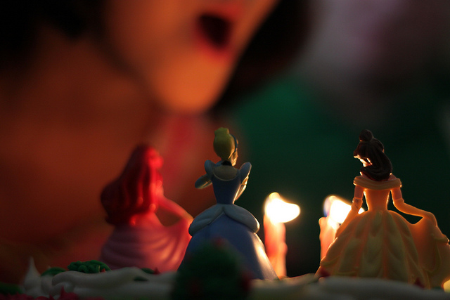Princess Candles by Bill Ferriter  via Flickr