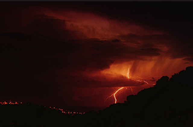 Orage by Christian Teillas via Flickr