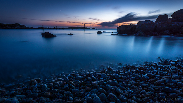 Heures bleues de Port Mazou by Bruno Vaillant via Flickr