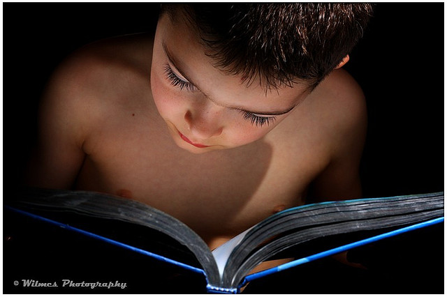 A Love for Reading by Jennifer Wilmes via Flickr