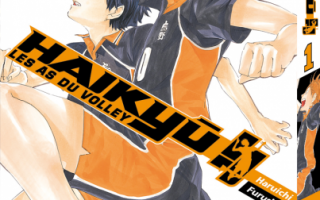 Haikyû, les as du volley de Haruichi Furudate