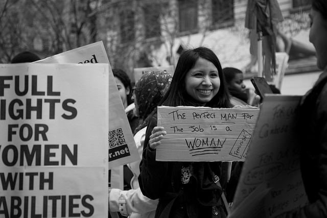 International Women's Day by Tina Leggio via Flickr