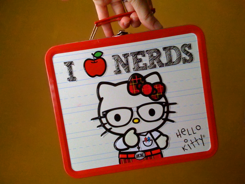 I can haz Hello Kitty lunchbox ?! by Jennifer via Flickr