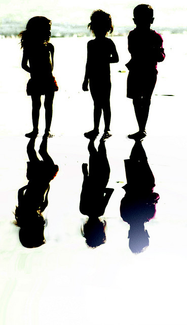 Enfants reflets by Bachellier Christian via Flickr