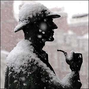 Statue Snow by Scott Monty via Flickr