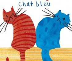 Chat rouge Chat bleu de Jenni Desmond