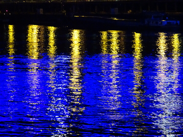 Lights on the water by Bobby Hiltz via Flickr