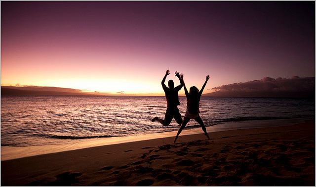 Maui - 2012 - Happy couple by damien_p58 via Flickr