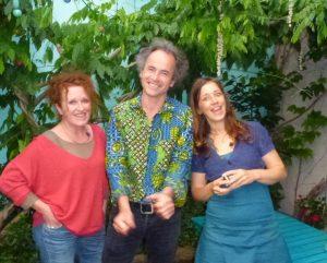 Natalie Tual, Gilles Belouin et Ilya Green copyright I.Green