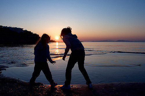 sisters by stefanos papachristou via Flickr