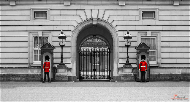 Queen's Guard by Pablo Fernandez via Flickr
