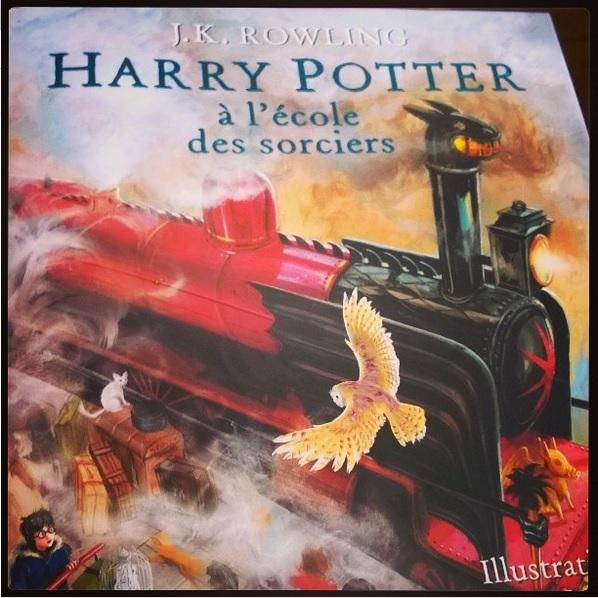 Harry Potter T 1 Illustre Un Petit Bout De Bib Liotheque