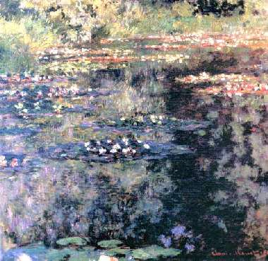 Nymphéas, Claude Monet, 1904