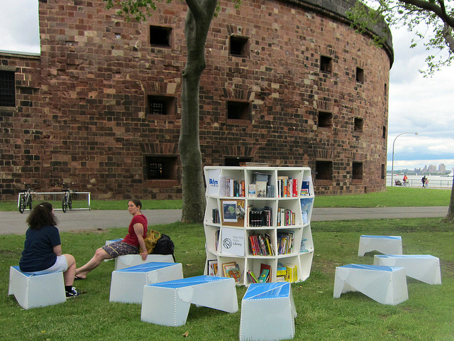 Pop-Up Library  by Allisaon Meier via Flickr