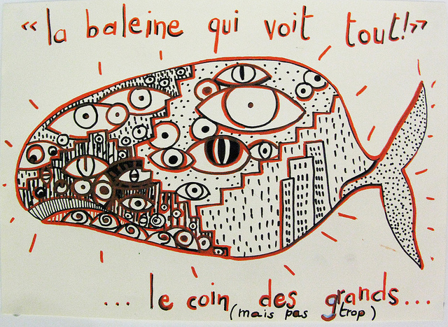 Dessine moi un ventre de baleine... by Museum de Toulouse via Flickr
