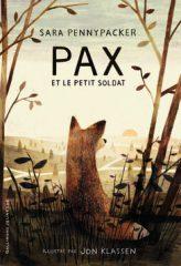 Pax et le petit soldat de Pennypacker