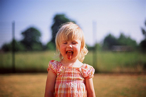 my little sister by Reinis Traidas via Flickr
