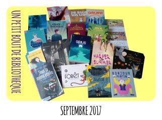 Objectif Lecture - Septembre 2017