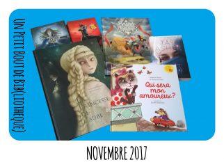 Objectif lecture - Novembre 2017