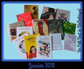 Objectif Lecture - Janvier 2018
