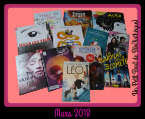 Objectif Lecture - Mars 2018