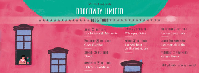 Blog Tour Broadway Limited